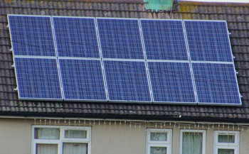 PHOTO: Indiana House Bill 1320, introduced by Rep. Eric Koch (R-Bedford), would allow utilities to set fixed charges for solar electricity users, which opponents say would shift profits from homeowners to utility companies. Photo credit: Ben Grader/Morguefile.