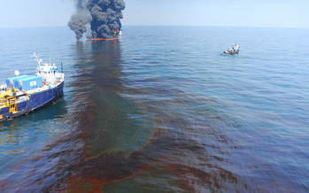 PHOTO: The penalty could be as high as $13.7 billion for BP, as the final phase in the trial over the 2010 Deepwater Horizon oil spill disaster in the Gulf of Mexico begins today. Photo credit: U.S. Coast Guard.