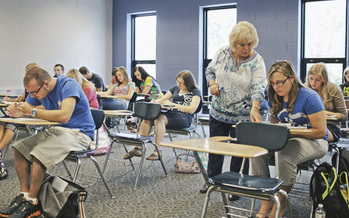 PHOTO: Students at Big Sandy Community and Technical College are among those who could benefit from President Barack Obama's proposal for two years of free tuition for community college students nationwide. The head of Kentucky's statewide system calls the idea a great investment. Photo courtesy Kentucky Community and Technical College System.