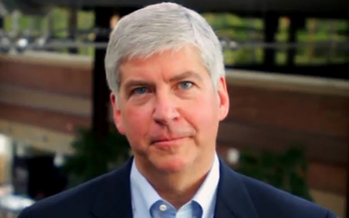 PHOTO: Gov. Rick Snyder's plans to combine the departments of Community Health and Human Services  are raising concerns about what it will mean for agencies, workers and the delivery of services at the local level. Photo courtesy of Gov. Snyder's office.