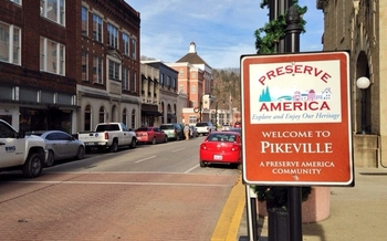 PHOTO: Across Appalachia, including Pikeville, a new research project will search for bright spots as ways to improve the region's health. Photo by Doug Hogan.