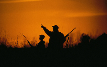 PHOTO: Mentors and young people are matched up according to their interests, from hunting and sports to games and movies. Photo credit: U.S. Fish and Wildlife Service Midwest/Flickr.
