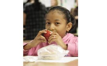 PHOTO: As a hunger-fighting strategy, the number of children getting breakfast in school is rising, but the figures in Pennsylvania are rising very slowly, according to a new national report. Photo courtesy Greater Philadelphia Coalition Against Hunger.