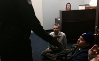 PHOTO: Immigration reform activists occupied dozens of U.S. congressional offices over what they call the