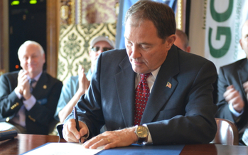 PHOTO: The Healthy Utah plan, supported by Gov. Gary Herbert, and which could help provide health insurance for thousands of people, is being considered by state lawmakers in the current legislative session. Photo courtesy Gov. Herbert.