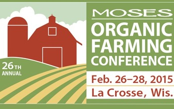 GRAPHIC: The largest organic farming conference in the nation will take place later this week in La Crosse, WI. Thousands of attendees from more than 40 states will share knowledge and learn the latest techniques in organic and sustainable agriculture.  (Image credit: Midwest Organic and Sustainable Education Service)