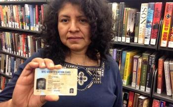 PHOTO: It's crunch time for New York Mayor Bill de Blasio's ID card program for undocumented immigrants and others who lack proper identification. The administration is rushing to issue the first 10,000 IDNYC cards by early next week, after receiving a surge in applicants when the program launched in January. Photo credit: IDNYC.
