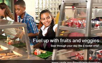 PHOTO: Nationally, more than 11 million low-income kids received free or reduced-price school breakfast in the 2013-14 school year, an increase of 320,000 from the previous school year. Photo credit: U.S. Department of Agriculture