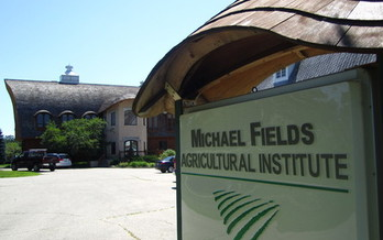 PHOTO: The Big Brown Barn at the Michael Fields Agricultural Institute near East Troy, WI, will be the place for a free screening of the movie