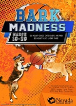 PHOTO: The Nevada Humane Society is celebrating NCAA March Madness with a pet adoption event featuring hundreds of dogs and cats called