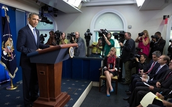 PHOTO: A new National Priorities Project analysis finds the Obama budget does a better job than House and Senate proposals to fund programs Americans say they most care about in recent polls. Credit: White House Photo.