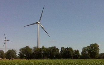 PHOTO: Researchers at the Center for American Progress say the two-year freeze on Ohio's clean energy standards has resulted in millions of lost energy investment, such as in wind power. Photo courtesy U.S. Fish and Wildlife Service.<br /><br />