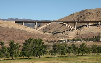 PHOTO: Nevada has fewer bridges in need of major repair or upgrading than any other state in the union, according to a new report from the American Road and Transportation Builders Association. Photo credit: Nevada Department of Transportation.