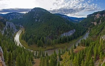 PHOTO: Montana's Smith River has made the top 10 list for most endangered rivers, issued by the group American Rivers. Plans for a large copper mine are listed as a threat to the waterway.    Photo credit: Fish Eye Guy Photography.