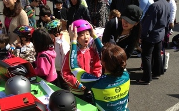 PHOTO: A new bike helmet is just one key to safer summer fun for Washington children. This weekend's YMCA Healthy Kids Day activities at many 'Y' locations will include helmet-fitting and giveaways. Photo courtesy of Group Health Cooperative.