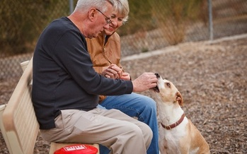 PHOTO: The quality and companionship that pets can add to the lives of Arizona seniors is the focus of an event this week in the Phoenix area. Photo courtesy of AARP Arizona.