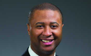 PHOTO: The American Stroke Association designates May as National Stroke Month, and Damond Boatwright, a senior executive with SSM Health Care of Wisconsin, says quick action is critical with stroke victims. He says time lost is brain function lost. Photo courtesy SSM Health Care of WI