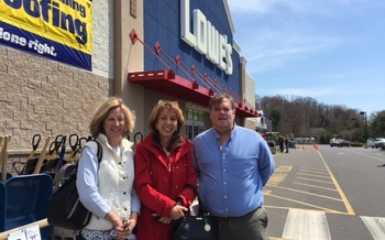 Connecticut advocates have been urging other retailers, including Lowe's, to follow the lead of Home Depot and phase out dangerous chemicals in some flooring products. They are concerned that a Senate update of the Toxic Substances Control Act isn't sufficient. Credit: Susan Eastwood.