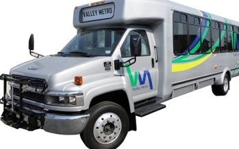PHOTO: The Texas Legislature is looking at partial state funding for a pilot public transit program to increase service and connect all higher-education campuses in the Rio Grande Valley. Transit ridership in the 4,000-square-mile region already is booming. Photo courtesy of Valley Metro.