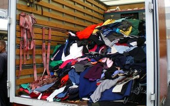 PHOTO: It's spring cleaning time, but before tossing old clothing or household items in the trash, Hoosiers are encouraged to help others in their community by donating items to a local charity organization. Photo credit: Jen Waller/Flickr.