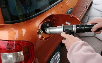 PHOTO: Legislation under consideration in Ohio would provide incentives for the purchase of natural gas and propane fueled vehicles. Photo credit: Adacta/Wikimedia.
