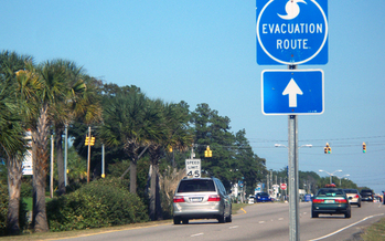 Photo: The North Carolina Department of Public Safety advises people to evacuate when asked in the event of a hurricane or other extreme weather. Photo credit: grafixar/morguefile.com