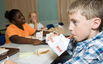 PHOTO: About one in five Pennsylvania children who qualify for free or low-cost school meals also takes part in summer feeding programs, according to a new report. Photo courtesy of the Greater Philadelphia Coalition Against Hunger.