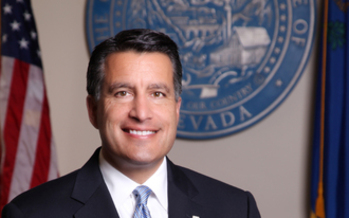 PHOTO: Gov. Brian Sandoval's proposed $1.1 billion tax increase to benefit the state's education system has sailed through the Nevada Legislature. Photo courtesy Gov. Sandoval's office.