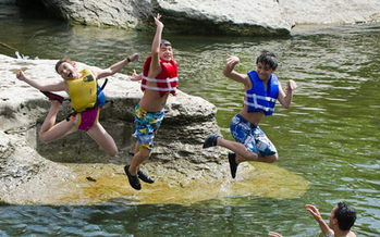 PHOTO: Summer in New Mexico means residents and tourists will be heading to lakes and rivers to cool off and relax, but it also can mean greater risk of drowning. Photo credit: Texas Parks and Wildlife.