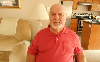 PHOTO: Retiree Ken Cowick of Cary paid $1,200 more in taxes this year as a result of the 2013 elimination of the medical expense deduction in the North Carolina tax code. Photo courtesy: Ken Cowick.