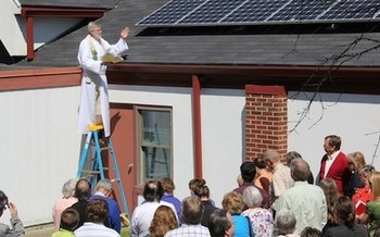 PHOTO: Hoosier Interfaith Power and Light works to reduce energy consumption in Indiana. The group is among those applauding Pope Francis' message that addressing climate change is a matter of moral obligations. Photo courtesy of Hoosier Interfaith Power and Light.