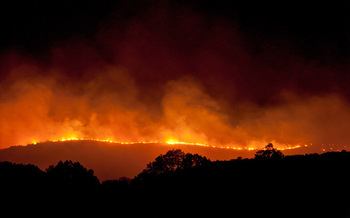 PHOTO: No one wants a repeat of the Mills Canyon fire or any other summer wildfire. But if blazes ignite, dozens of Washington State Association for Justice members say they're ready to help fire victims with legal advice, quickly and free of charge. Photo courtesy Washington Commission on Hispanic Affairs.