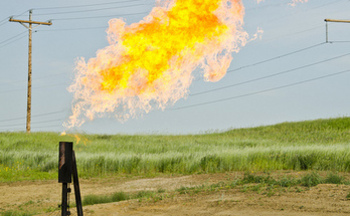 PHOTO: Natural gas that is flared, vented or that simply leaks from development sites is costing New Mexico millions in lost energy royalties, says a new report that examines the financial and environmental impact of gas waste on federal and tribal land. Photo credit: Tim Evanson/Flickr.