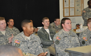 PHOTO: A new initiative in 25 cities, including Chicago, is working to promote economic success for veterans and their families through educational and employment opportunities. Photo credit: U.S. Army Material Command.
