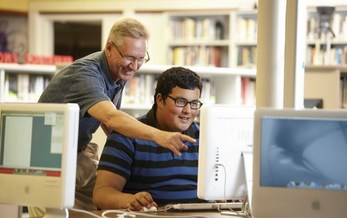 Mentors are needed across the state for ASPIRE, a program that pairs middle school and high school students with mentors to help kids explore and consider college and career options. Courtesy: ASPIRE.
