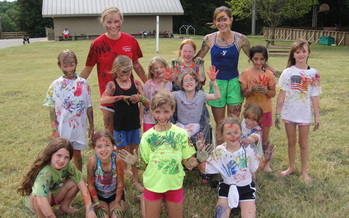 PHOTO: Some children in Tennessee are getting some much needed summer fun this week at a camp that caters to those who have juvenile arthritis. Photo courtesy of the Arthritis Foundation.