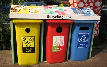The business aspect of recycling is subject to the ups and downs of the global marketplace, says the president of Associated Recyclers of Wisconsin. Credit: Wikimedia Commons