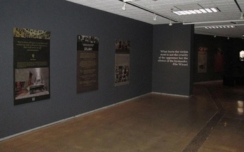 PHOTO: Thousands of people who rescued Jews from likely death during the Holocaust are the focus of an Israel-based Holocaust memorial now on display at the University of Nevada, Reno. Photo courtesy of the University of Nevada - Reno.