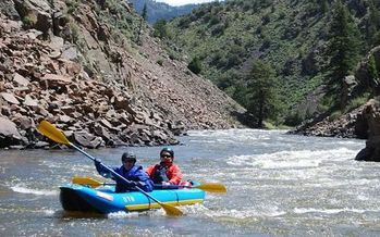 PHOTO: This week marks Latino Conservation Week, and youth leaders from Colorado, Arizona, California, Nevada and New Mexico are preparing to gather in Denver to protect the Colorado River. The river contributes $1.4 trillion in economic activity, and two million jobs in Colorado. Photo courtesy of the U.S. Bureau of Land Management.