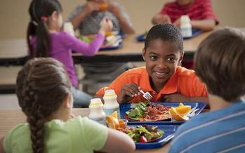 A window of opportunity opens August 1 for high-needs school districts across the state to sign up for a program that offers universal free meals to all students in high-needs districts. Credit: USDA