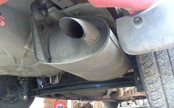 Tailpipe on vehicle. Credit: Matthew Paul Argall/Wikimedia Commons.