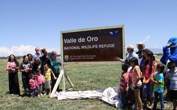 Nature lovers gather at Valle de Oro National Wildlife Refuge. Courtesy: U.S. Sen. Martin Heinrich