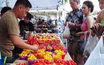 It's National Farmers Market Awareness Week in the Gem State. Credit: Deborah C. Smith.
