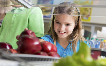 Class will soon be back in session for kids across North Dakota and an ever growing number will find local foods in their school cafeterias. Credit: Steve Debenport.