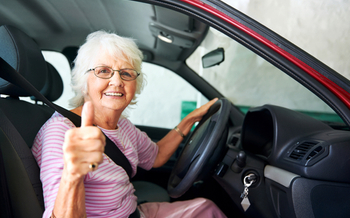 Uber and the AARP subsidiary Life Reimagined are partnering to attract more seniors to drive for Uber. Credit: Warren Goldswain/iStock