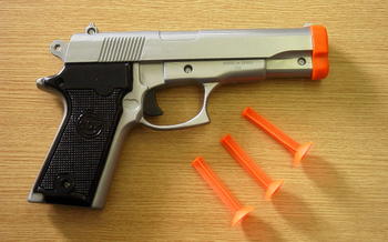PHOTO: New York state regulators have cracked down on retailers selling life-like toy guns, in an attempt to reduce accidental shootings by people who assume a toy gun is real. Photo credit: Travis Grawey/freeimages.com.
