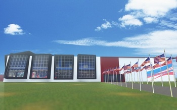 U-S Welcome Pavilion planned for 2016 Olympic Summer Games in Rio de Janeiro. Courtesy: U.S. Welcome Pavilion