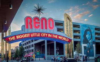 Nevada's economy is back in the black and breaking records following the Great Recession. Courtesy: City of Reno<br />