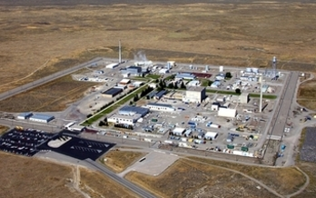 Threats are swirling over accepting nuclear waste for research at the Idaho National Laboratory. Credit: U.S. Dept. of Energy.
