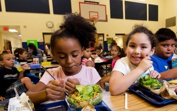 Congress must decide whether to reauthorize school food programs before Sept. 30, when the current law is set to expire. Credit: Lance Cheung, U.S. Dept. of Agriculture